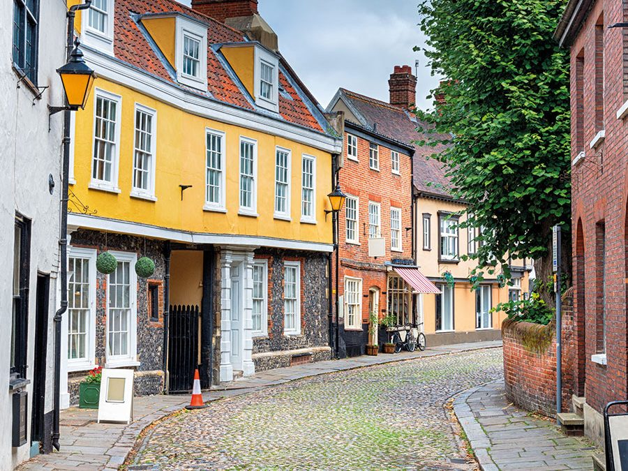 Discover… Norwich Lanes