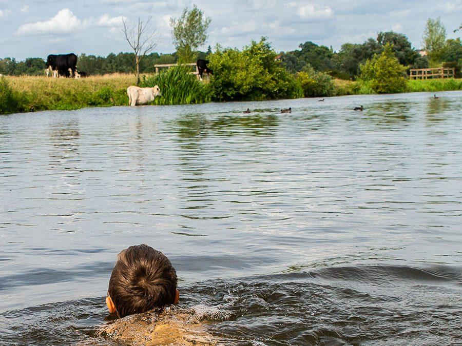 Wild swimming in Suffolk