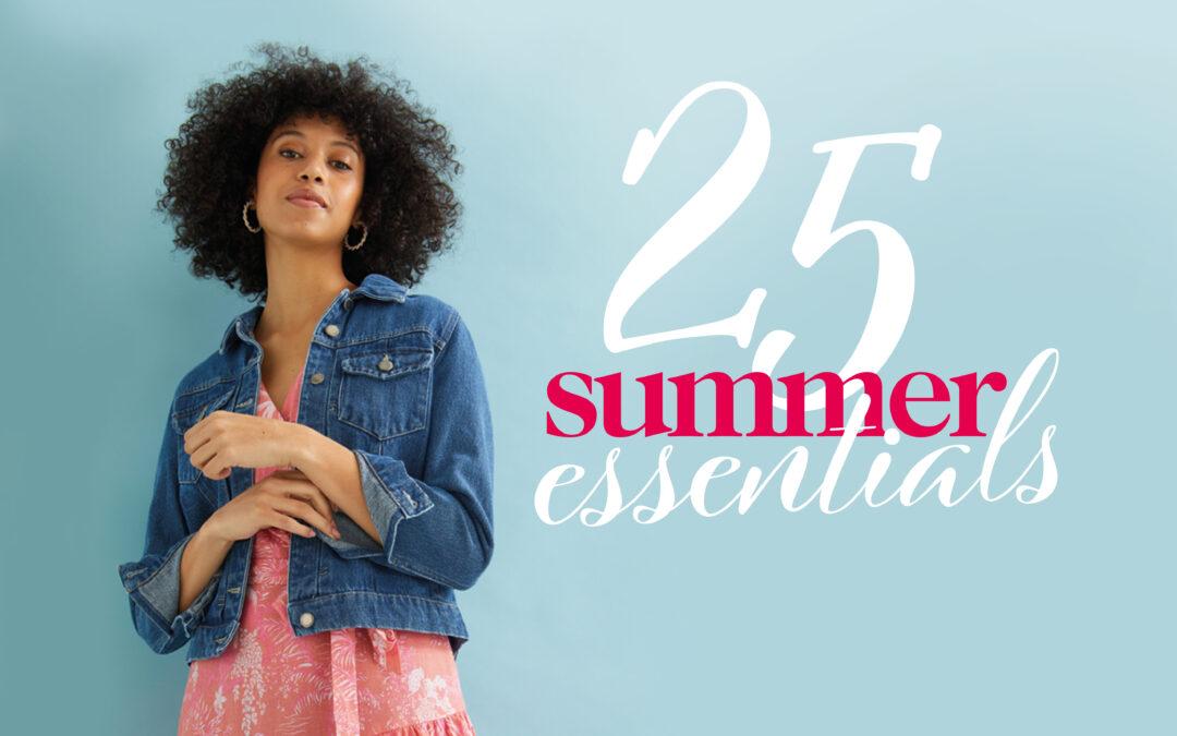 25 summer essentials