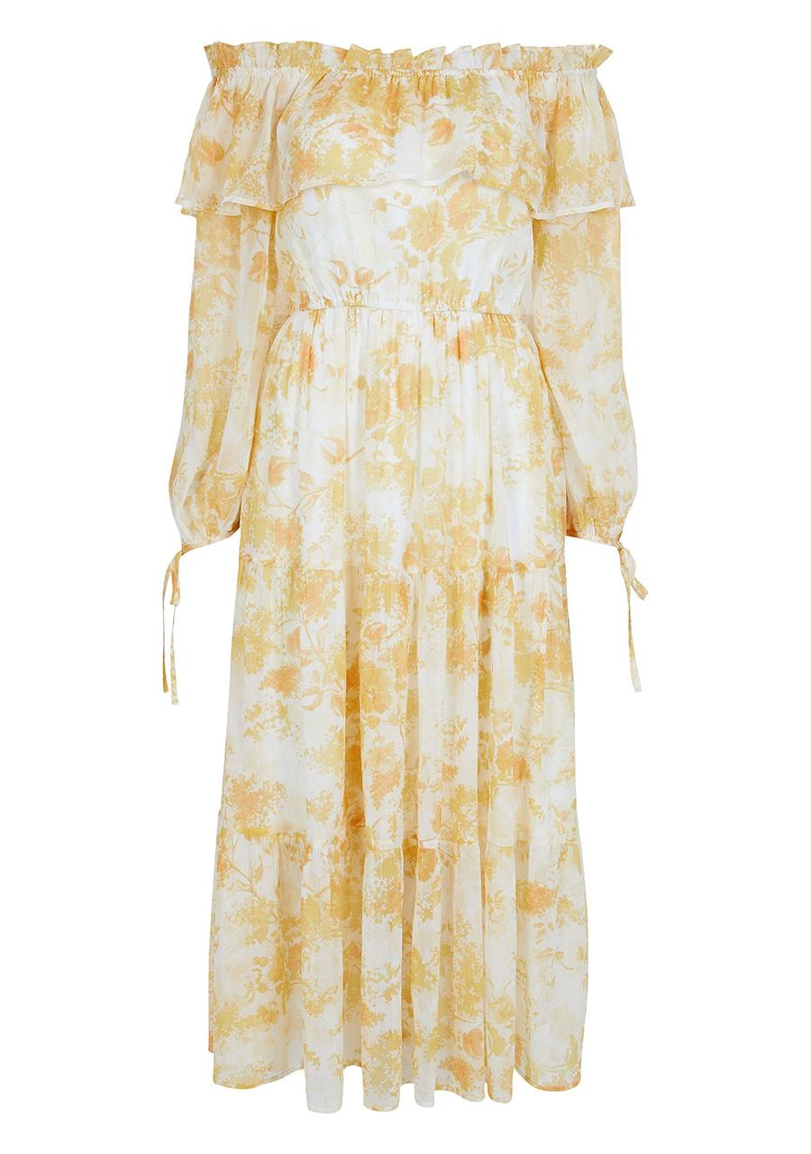 River-Island-cut-off-shoulder-dress