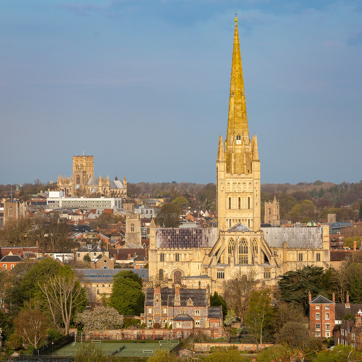 Norwich-Cathedral-and-Cathedral-of-St-John-the-Baptist-(c)-Bill-Smith