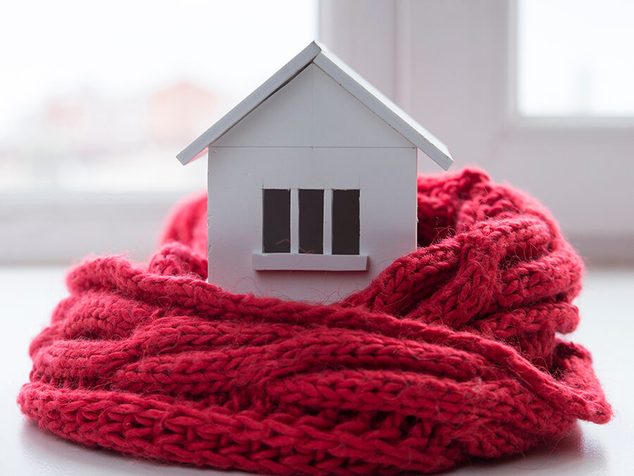 Winter home…