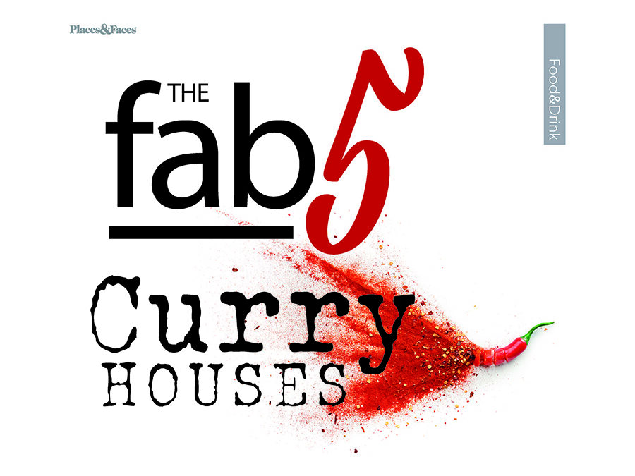 The Fab 5 Curry Houses